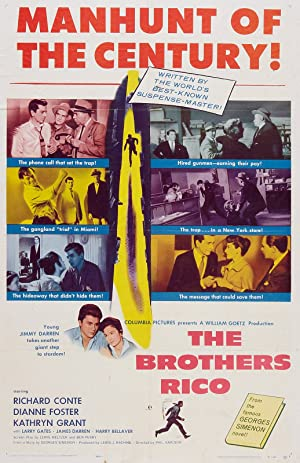 Watch Free The Brothers Rico (1957)