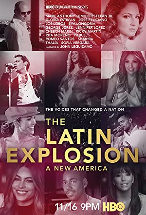 Watch Free The Latin Explosion: A New America (2015)