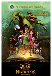 Watch Free Peter Pan: The Quest for the Never Book (2018)