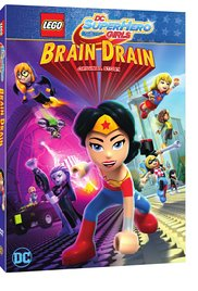 Watch Free Lego DC Super Hero Girls: Brain Drain (2017)