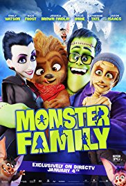 Watch Free Monster Family (2017)