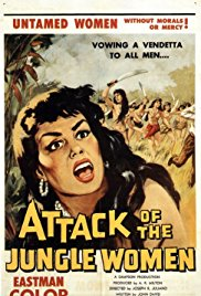 Watch Free Attack of the Jungle Women (1959)