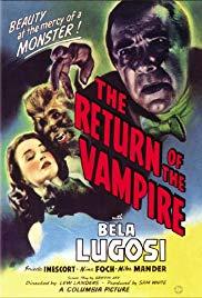 Watch Free The Return of the Vampire (1943)