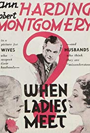 Watch Free When Ladies Meet (1933)