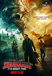 Watch Free The Last Sharknado: Its About Time (2018)