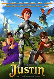 Watch Free Justin and the Knights of Valour (2013)
