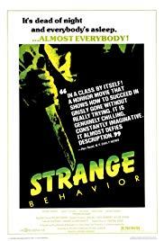 Watch Free Strange Behavior (1981)