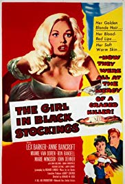 Watch Free The Girl in Black Stockings (1957)