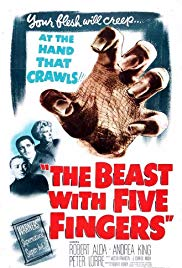 Watch Free The Beast with Five Fingers (1946)