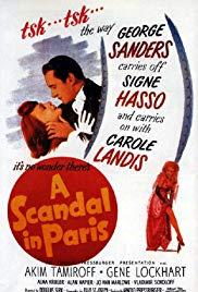 Watch Free A Scandal in Paris (1946)