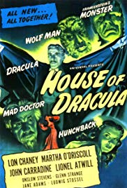 Watch Free House of Dracula (1945)