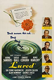 Watch Free Lured (1947)