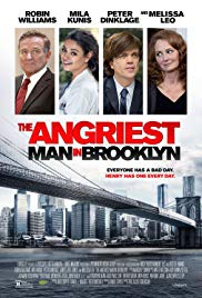 Watch Free The Angriest Man in Brooklyn (2014)