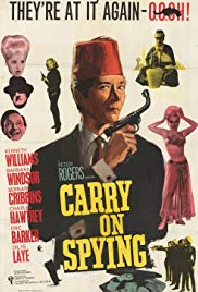 Watch Free Carry On Spying (1964)