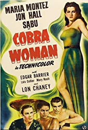 Watch Free Cobra Woman (1944)