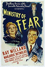Watch Free Ministry of Fear (1944)