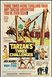 Watch Free Tarzans Three Challenges (1963)