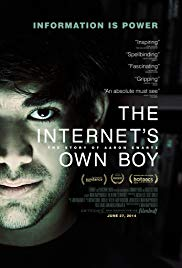 Watch Free The Internets Own Boy: The Story of Aaron Swartz (2014)