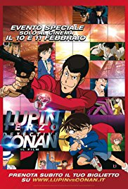 Watch Free Lupin III vs. Conan (2013)