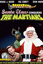 Watch Free RiffTrax Live: Santa Claus Conquers the Martians (2013)