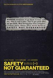 Watch Free Safety Not Guaranteed (2012)
